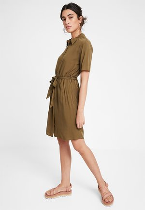 DRESS - Paitamekko - khaki