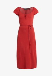 Dorothy Perkins - NECK PLAIN  - Maxikjoler - terracotta - 3
