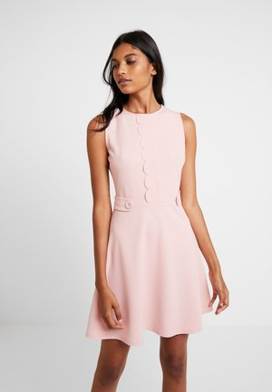SCALLOPED DETAIL - Jerseyjurk - blush