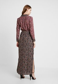 Dorothy Perkins - DRESS - Maxi dress - black burgundy - 3