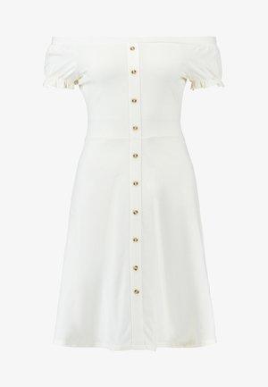 BARDOT - Žerzejové šaty - ivory