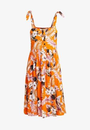 CRINKLE DRESS - Vapaa-ajan mekko - orange
