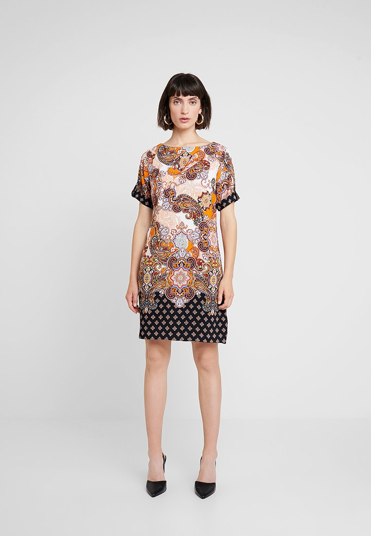 Dorothy Perkins - PAISLEY SHIFT - Korte jurk - orange