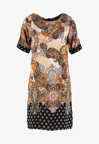 Dorothy Perkins - PAISLEY SHIFT - Korte jurk - orange - 4