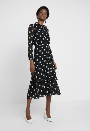 SPOT DRESS - Abito a camicia - black
