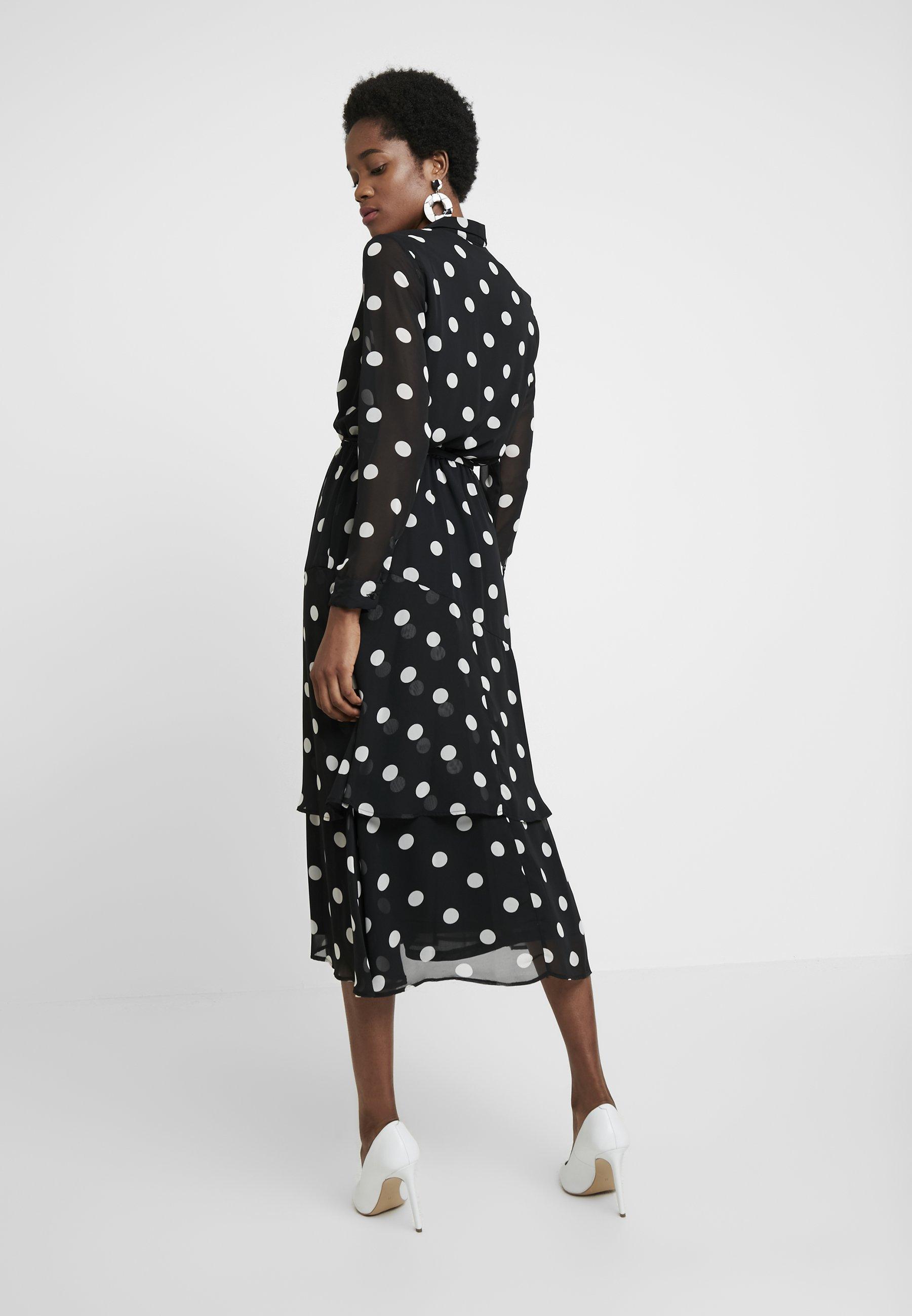 Dorothy Spot Chemise Perkins Black DressRobe ynONm8v0w