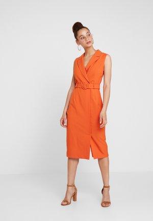 UTILITY DRESS - Maxi dress - copper