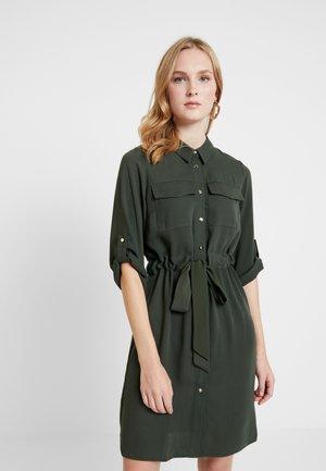 SHIRT DRESS - Shirt dress - khaki