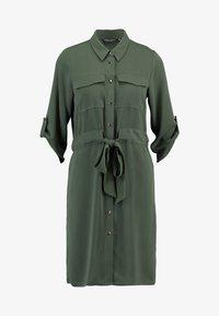 Dorothy Perkins - SHIRT DRESS - Abito a camicia - khaki - 5