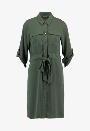 SHIRT DRESS - Abito a camicia - khaki