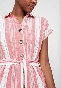 Dorothy Perkins - UTILITY DRESS - Košilové šaty - red - 6