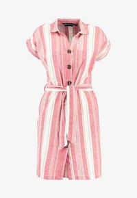 Dorothy Perkins - UTILITY DRESS - Košilové šaty - red - 5