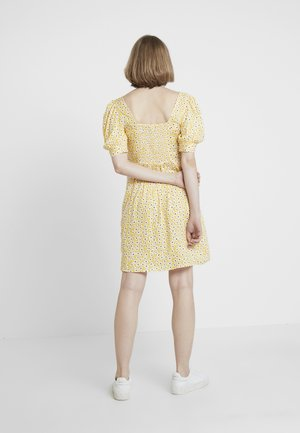 FLORAL DITSY TEA DRESS - Day dress - sunshine