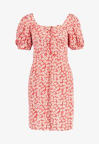 Dorothy Perkins - FLORAL DITSY TEA DRESS - Vestido informal - red - 5