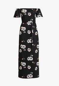 Dorothy Perkins - FLORAL DITSY BARDOT - Maxi šaty - black - 5