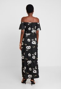 Dorothy Perkins - FLORAL DITSY BARDOT - Maxi šaty - black - 3