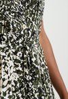Dorothy Perkins - CRISSY CAMO SHORT SLEEVE DRESS - Skjortekjole - khaki