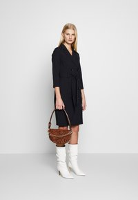 Dorothy Perkins - SLEEVE TRENCH DRESS - Košilové šaty - navy blue - 1