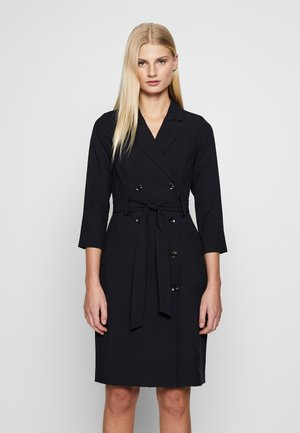 SLEEVE TRENCH DRESS - Robe chemise - navy blue