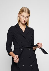 Dorothy Perkins - SLEEVE TRENCH DRESS - Košilové šaty - navy blue - 4