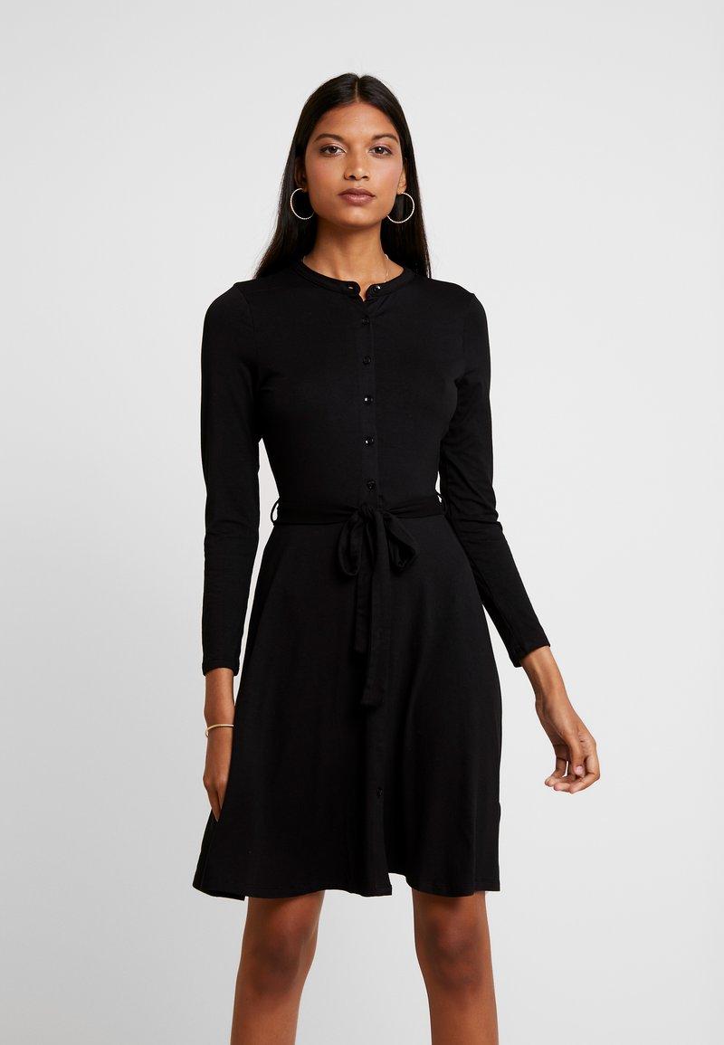 Dorothy Perkins - SHIRT DRESS - Jerseykjoler - black