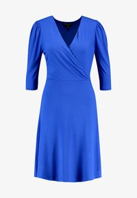 Dorothy Perkins - COBALT PUFF SLEEVE WRAP DRESS - Jersey dress - cobalt - 3