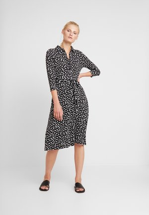 HEART MIDI DRESS - Maxikjole - black