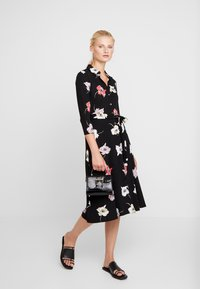 Dorothy Perkins - LARGE FLORAL DRESS - Maxikjole - black - 2
