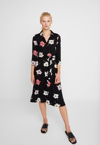 Dorothy Perkins - LARGE FLORAL DRESS - Maxikjole - black - 0