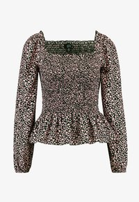 Dorothy Perkins - LOLA SKYE SHIRRED SQUARE NECK - Blusa - pink - 3
