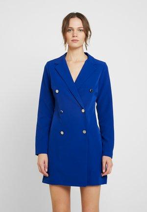 LOLA SKYE TUXEDO DRESS - Shift dress - cobalt