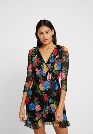 LOLA SKYE FLORAL WRAP DRESS - Vestito estivo - multi coloured