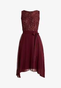 Dorothy Perkins - HANKY MIDI DRESS - Robe de soirée - berry - 6