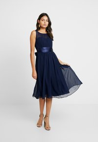 Dorothy Perkins - BETHANY MIDI DRESS - Vestito elegante - navy - 0