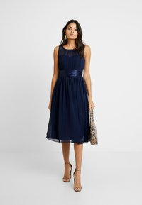 Dorothy Perkins - BETHANY MIDI DRESS - Vestito elegante - navy - 2