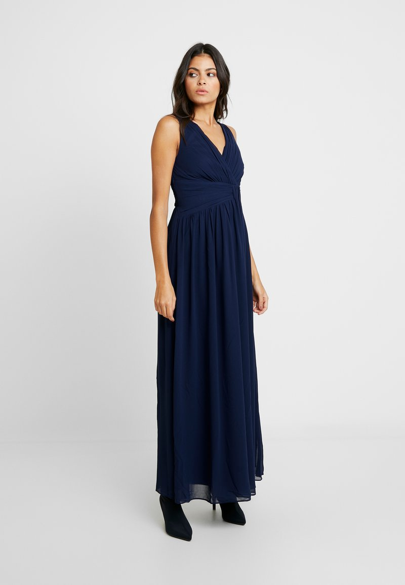 Dorothy Perkins - DARCY DRAPE DETAIL MAXI DRESS - Occasion wear - navy