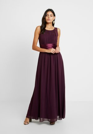 NATALIE MAXI DRESS - Galajurk - oxblood