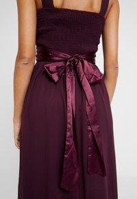 Dorothy Perkins - NATALIE MAXI DRESS - Vestido de fiesta - oxblood - 7