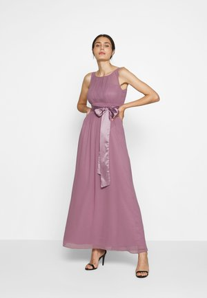 NATALIE MAXI DRESS - Festklänning - dark rose