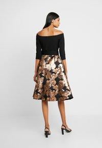 Dorothy Perkins - BARDOT SOLID BODICE BELTED DRESS - Cocktail dress / Party dress - black - 3