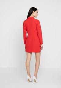 Dorothy Perkins - BLAZER DRESS - Pouzdrové šaty - red - 3
