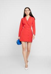 Dorothy Perkins - BLAZER DRESS - Pouzdrové šaty - red - 2