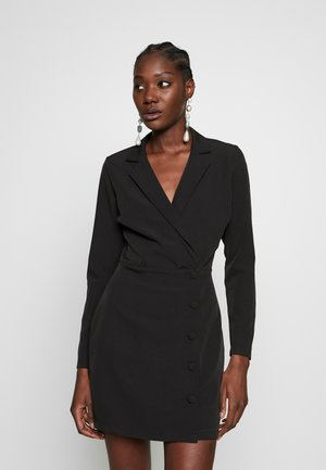 BLAZER DRESS - Etui-jurk - black