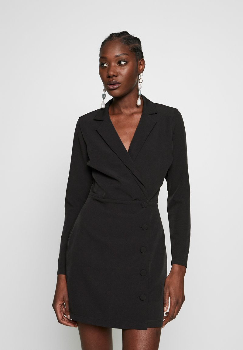 Dorothy Perkins - BLAZER DRESS - Kotelomekko - black