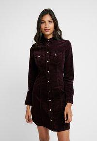 Dorothy Perkins - DRESS - Vestido camisero - purple - 0
