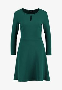Dorothy Perkins - KEYHOLE SEAMED FIT FLARE - Robe d'été - green - 4