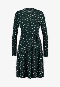 Dorothy Perkins - SMUDGE PRINT DRESS - Trikoomekko - green - 5