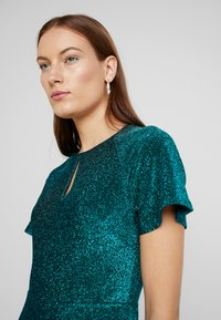 Dorothy Perkins - KEYHOLE FIT AND FLARE - Jerseyjurk - teal - 4