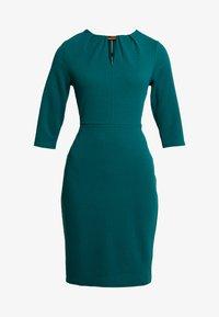 Dorothy Perkins - HARDWEAR PLEAT NECK BODYCON - Etuikleid - green - 5