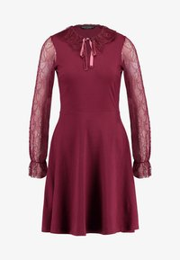 Dorothy Perkins - COLLAR DRESS - Žerzejové šaty - red - 5